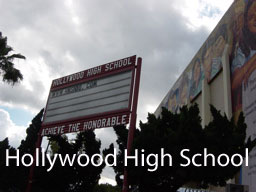 Haunted Places Hollywood High School